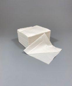 24x24cm baltos servetėlės