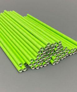 200x6mm žali šiaudeliai